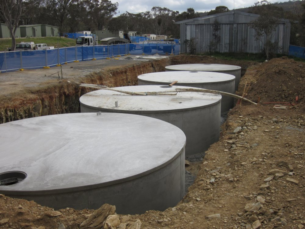 Recent Concrete Tank Projects | Panthers Concrete Tanks