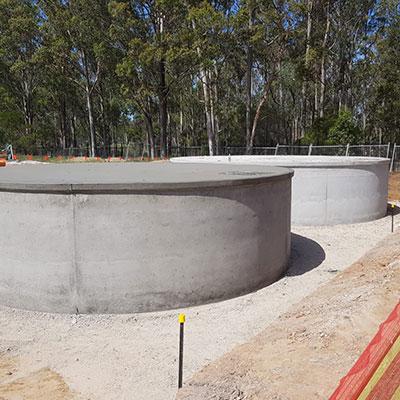 Concrete Water Tanks Sydney | Panthers Concrete Tanks